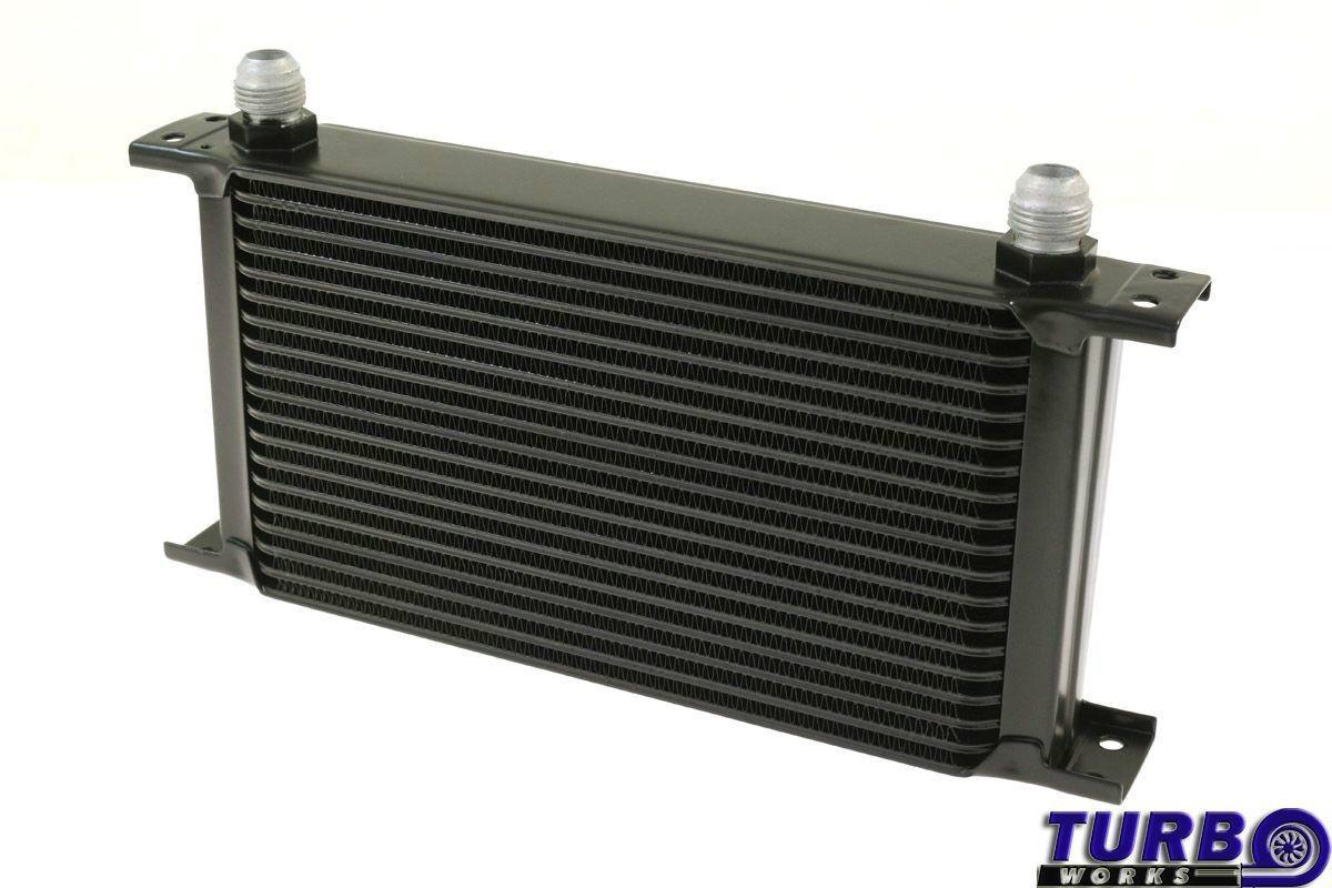 Olajhűtő TurboWorks 19-soros 260x150x50 AN10 Fekete